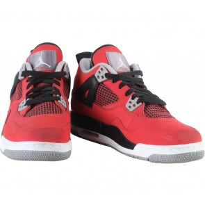 Nike Red Air Jordan 4 Retro GS Toro Sneakers