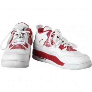 Nike White Air Jordan 4 Retro GS Alternative 89 Sneakers