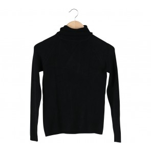 Uptown Girl Black High Neck Blouse