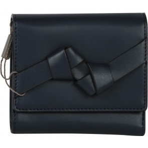 Charles and Keith Dark Blue Folded Wallet