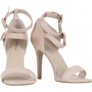 Something Borrowed Cream Heels