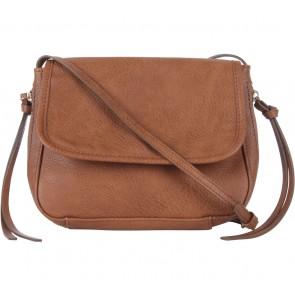 Stradivarius Brown Flap Sling Bag