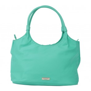 Kate Spade Green Seaside Nylon Sutton  Handbag