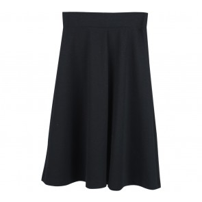 UNIQLO Black Midi Skirt