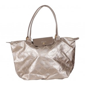 Longchamp Gold Tote Bag