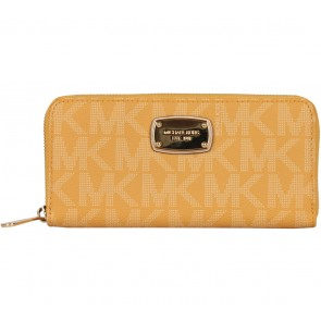 Michael Kors Yellow Patterned Wallet