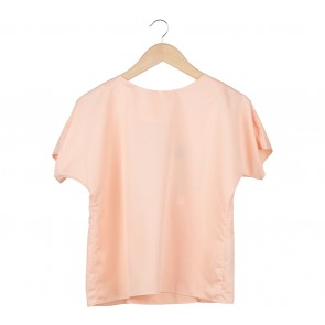 Shop At Velvet Peach Back Cut Out Blouse