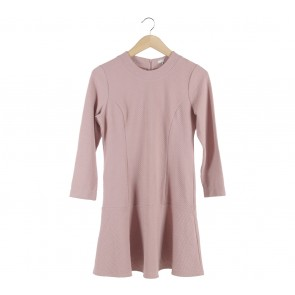 UNIQLO Pink Mini Dress