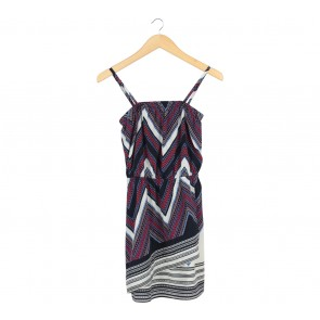 Express Multi Colour Mini Dress
