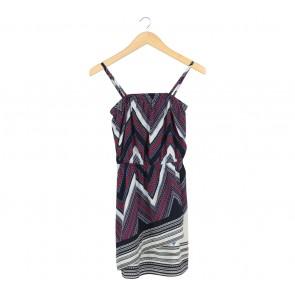Express Multi Colour Mini Dress