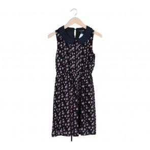 Forever 21 Black Ribbon Mini Dress