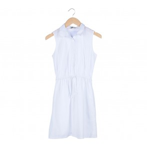 Cotton Ink White Shirt Mini Dress
