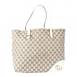Gucci Brown Borsa New Britt Tote Bag