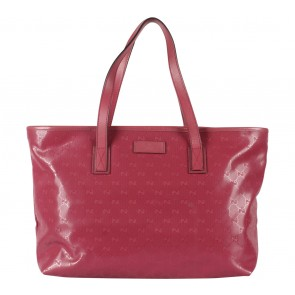 Gucci Maroon Tote Bag