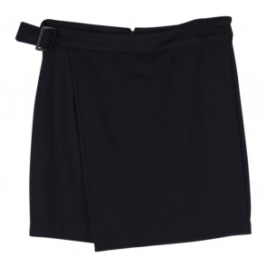 Forever 21 Black Belted Mini Skirt