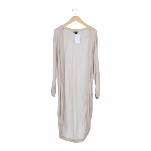 H&M Nude Long Cardigan