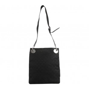 Gucci Black Monogram Sling Bag