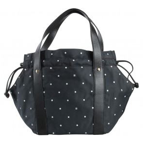 Kate Spade Black Polka Dot Shoulder Bag