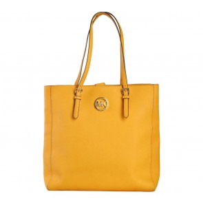 Michael Kors Yellow Saffiano Tote Bag