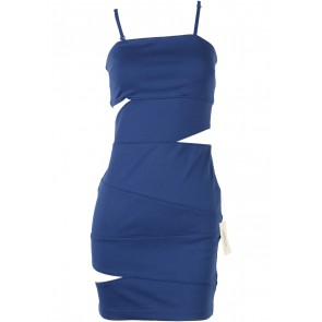 Forever 21 Blue Tube Mini Dress