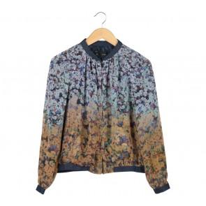 Zara Multi Colour Floral Jacket