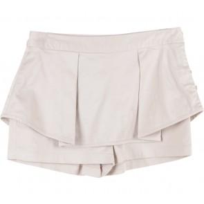 Geulis Cream Skort Pants