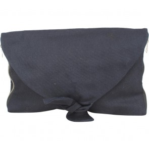 Geulis Dark Blue Clutch