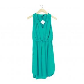 Mango Green Midi Dress