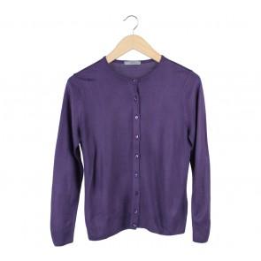 Marks & Spencer Purple Cardigan
