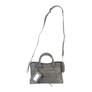 Balenciaga Grey Satchel