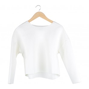Hunting Fields Off White Textured Blouse
