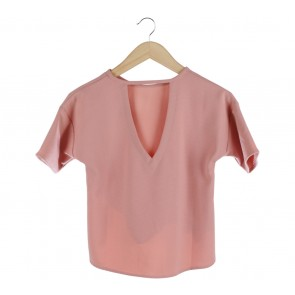 Love, Bonito Pink Cut Out Blouse