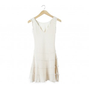 Zara Cream Mini Dress