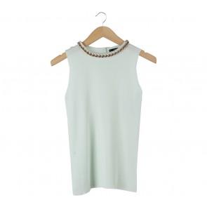 Zara Light Green Sleeveless