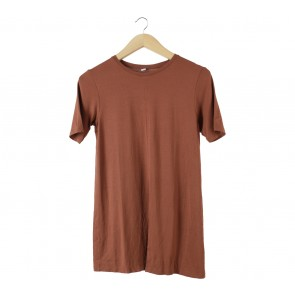 UNIQLO Brown Blouse
