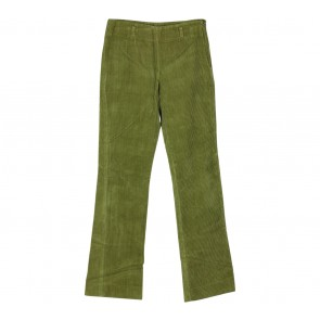 DKNY Green Textured Pants