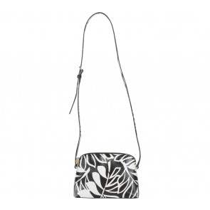Kate Spade Black And Cream Cedar Street Palms Mandy Sling Bag