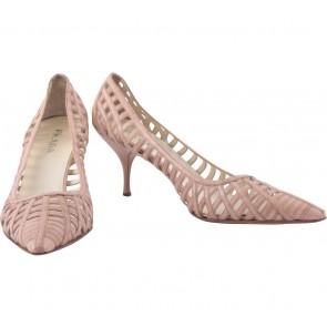 Prada Cream Heels