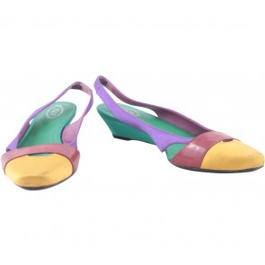 Tod´s Multi Colour Wedges
