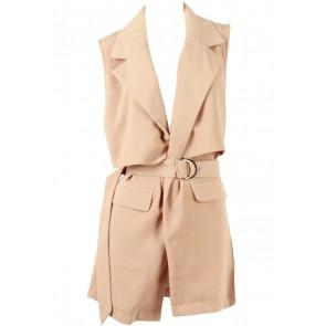 Cocoon Light Brown Vest