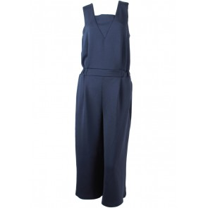Marie & Frisco Dark Blue Sleeveless Jumpsuit