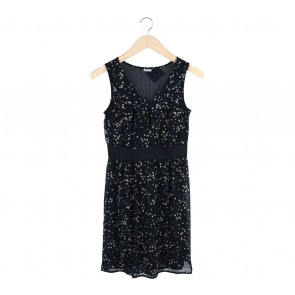 Esprit Dark Blue Star Mini Dress