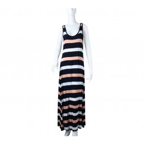 GAP Multi Colour Striped Long Dress
