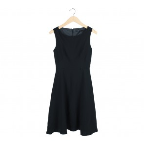 Marks & Spencer Black Midi Dress