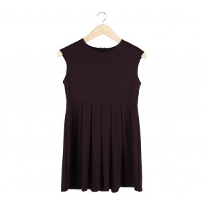 Zara Purple Mini Dress