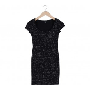 H&M Black Dots Mini Dress