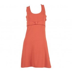 Miss Selfridge Orange Sleeveless Mini Dress