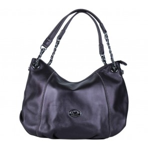 Braun Buffle Dark Purple Shoulder Bag