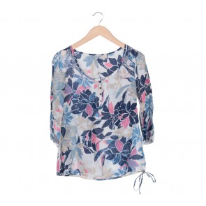 Marks & Spencer Multi Colour Floral Blouse