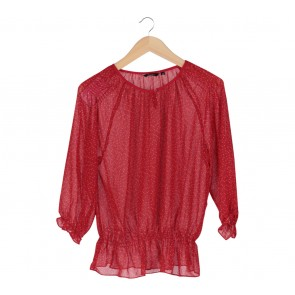 Neu´mor Red Polka Dot Blouse